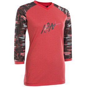 ION Scrub AMP T-shirt Manches 3/4 Femme, pink isback